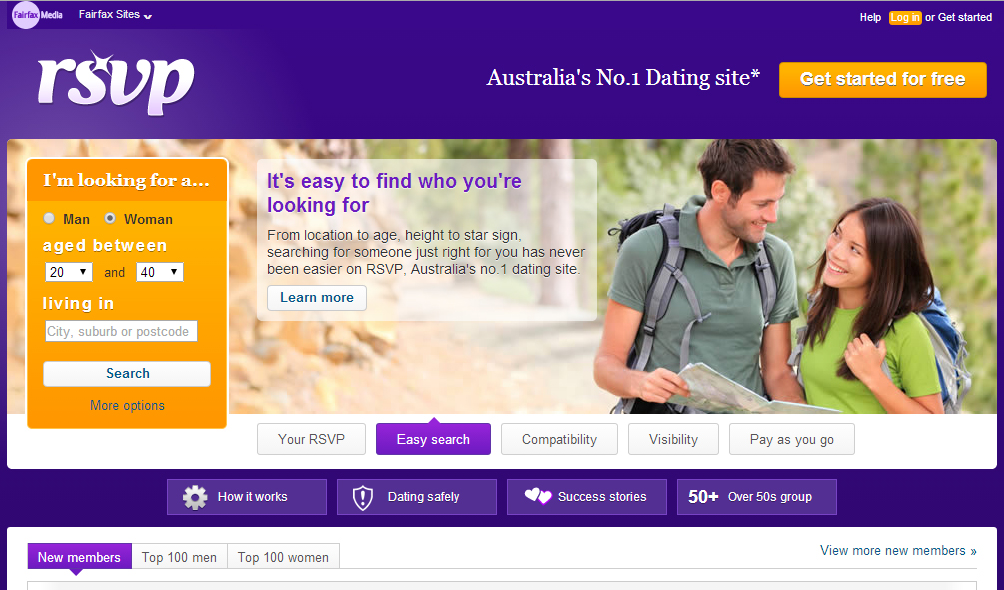 Most popular online dating site in Australia